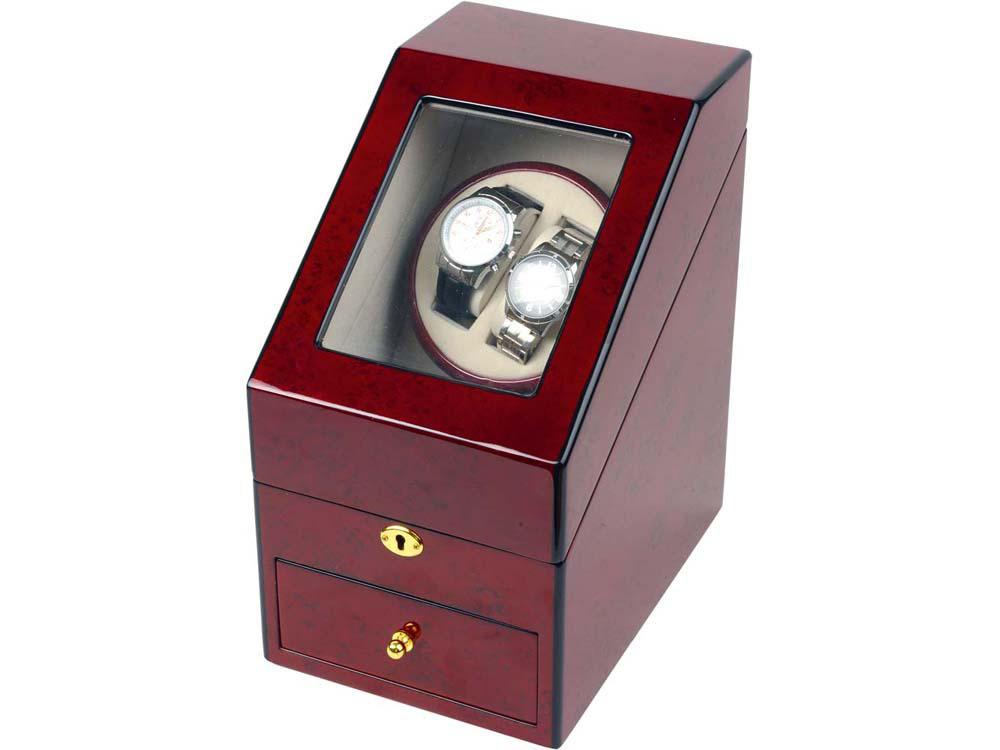 Шкатулка для подзавода 1-х часов luxe wood бренд: тан деревянной коробки для часов с декоративным рисунком модные механические с автоподзаводом часы намотки новые шкатулки с автоподзаводом tevise.